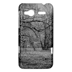 Black and White Forest HTC Radar Hardshell Case