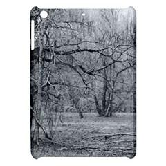 Black and White Forest Apple iPad Mini Hardshell Case