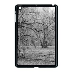Black and White Forest Apple iPad Mini Case (Black)
