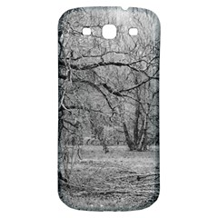 Black and White Forest Samsung Galaxy S3 S III Classic Hardshell Back Case