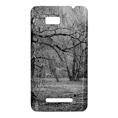 Black and White Forest HTC One SU T528W Hardshell Case