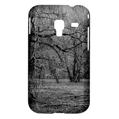 Black and White Forest Samsung Galaxy Ace Plus S7500 Case