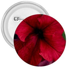 Red Peonies Large Button (round)