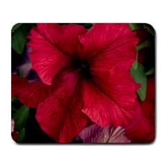 Red Peonies Large Mouse Pad (rectangle)