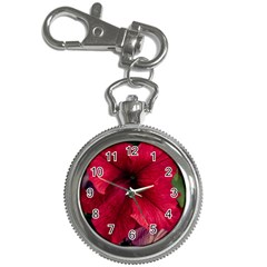 Red Peonies Key Chain & Watch