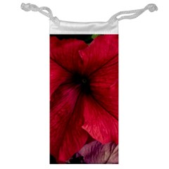 Red Peonies Glasses Pouch