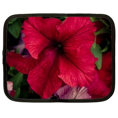 Red Peonies 12  Netbook Case