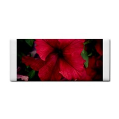 Red Peonies Hand Towel
