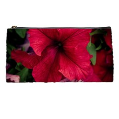 Red Peonies Pencil Case