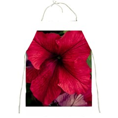 Red Peonies Apron
