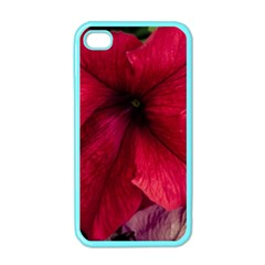 Red Peonies Apple Iphone 4 Case (color)