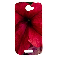 Red Peonies HTC One S Hardshell Case