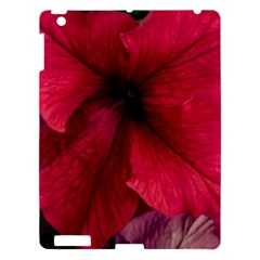 Red Peonies Apple iPad 3/4 Hardshell Case
