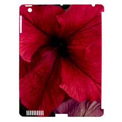 Red Peonies Apple iPad 3/4 Hardshell Case (Compatible with Smart Cover)