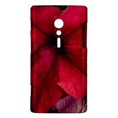 Red Peonies Sony Xperia ion Hardshell Case