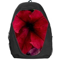 Red Peonies Backpack Bag