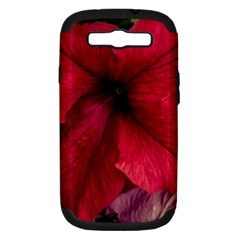Red Peonies Samsung Galaxy S Iii Hardshell Case (pc+silicone)