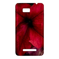Red Peonies HTC One SU T528W Hardshell Case