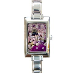 Flying Bumble Bee Classic Elegant Ladies Watch (Rectangle)