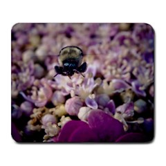 Flying Bumble Bee Large Mouse Pad (Rectangle)