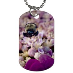 Flying Bumble Bee Single-sided Dog Tag