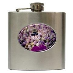 Flying Bumble Bee Hip Flask