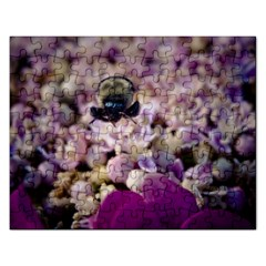 Flying Bumble Bee Jigsaw Puzzle (rectangle)