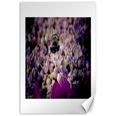 Flying Bumble Bee 20  x 30  Unframed Canvas Print