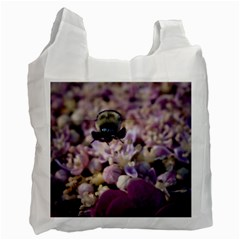 Flying Bumble Bee Single Sided Reusable Shopping Bag