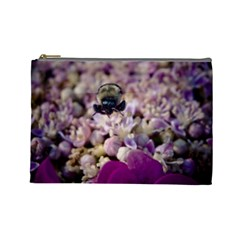 Flying Bumble Bee Large Makeup Purse