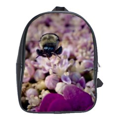 Flying Bumble Bee Large School Backpack