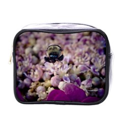 Flying Bumble Bee Single Sided Cosmetic Case
