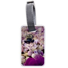 Flying Bumble Bee Twin Sided Luggage Tag