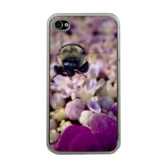 Flying Bumble Bee Apple iPhone 4 Case (Clear)