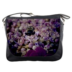 Flying Bumble Bee Messenger Bag
