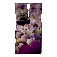 Flying Bumble Bee Sony Xperia S Hardshell Case