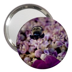 Flying Bumble Bee 3  Handbag Mirror