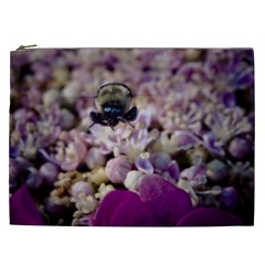 Flying Bumble Bee Cosmetic Bag (XXL)