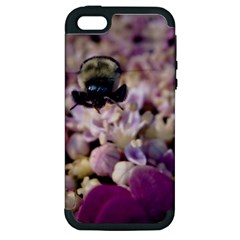 Flying Bumble Bee Apple iPhone 5 Hardshell Case (PC+Silicone)