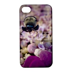 Flying Bumble Bee Apple iPhone 4/4S Hardshell Case with Stand