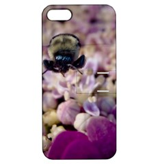 Flying Bumble Bee Apple iPhone 5 Hardshell Case with Stand