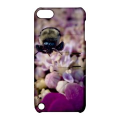 Flying Bumble Bee Apple iPod Touch 5 Hardshell Case with Stand