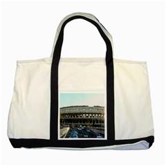 Roman Colisseum Two Toned Tote Bag