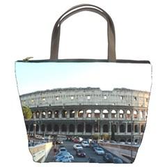 Roman Colisseum Bucket Handbag