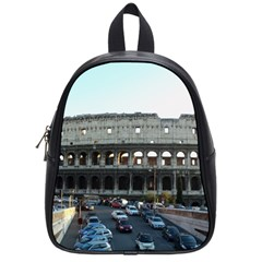 Roman Colisseum Small School Backpack