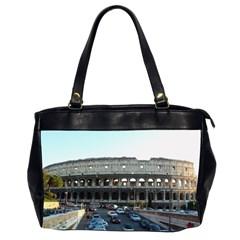 Roman Colisseum Twin Sided Oversized Handbag