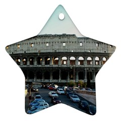 Roman Colisseum Ceramic Ornament (Star)