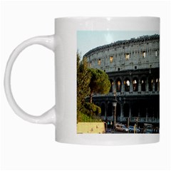 Roman Colisseum White Coffee Mug