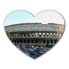 Roman Colisseum Mouse Pad (Heart)