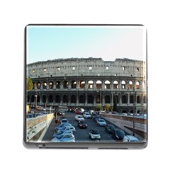 Roman Colisseum Card Reader with Storage (Square)